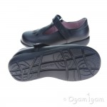 Start-rite Daisy May Girls Black School Shoe