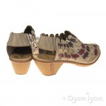 Rieker 4677862 Womens Beige Multi Shoe