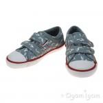 Start-rite Sea Spray Boys Blue Canvas Shoe