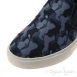 Clarks Club Skate Jnr Boys Navy Combi Shoe