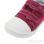Clarks Kirsty Girls Hot Pink Shoe