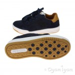 Geox Rolk Boys Navy/Brown Shoe