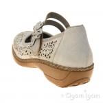 Rieker 4137260 Womens Perle/Ice Shoe