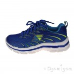 Skechers Nitrate Boys Royal/Yellow Trainer