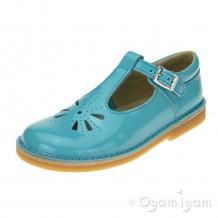 Start-rite Tea Party Girls Aqua Patent Shoe