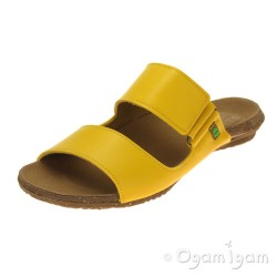 El Naturalista Wakataua Womens Yellow Vegan Sandal