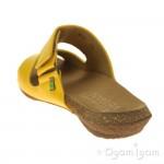El Naturalista Wakataua Womens Yellow Vegan Sandal