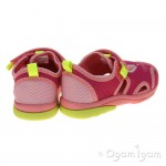 Clarks BeachMolly Fst Girls Pink Combi Sandal