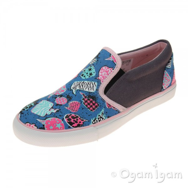 Clarks Brill Idol Jnr Girls Multicolour Shoe