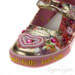 Lelli Kelly Love Heart Girls Multi Fantasia Shoe