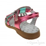 Start-rite Summer Shimmer Girls Multi-Metallic Sandal