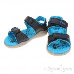 Clarks Tyrano Roar Boys Navy Sandal