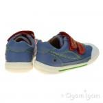 Start-rite Flexy Soft Turin Boys Blue Shoe