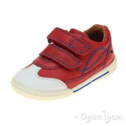 Start-rite Flexy Soft Turin Boys Red Shoe