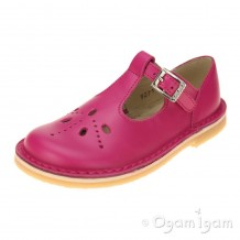 Start-rite Lottie III Girls Fuchsia Pink Shoe
