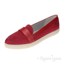 Geox Amalthia Womens Coral Red Shoe