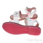 Agatha Ruiz de la Prada 162959 Girls White Star Sandal