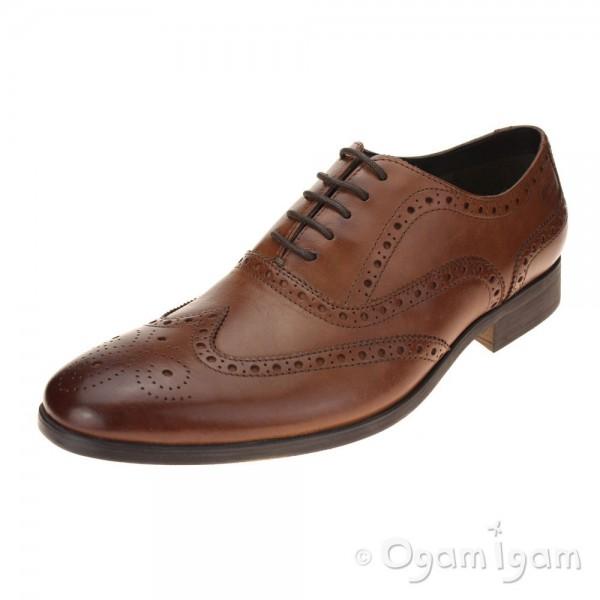 Clarks Banfield Limit Mens Tan Shoe