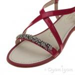 Clarks Sail Breeze Womens Fuchsia Patent Sandal