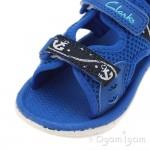 Clarks PiranhaBoy Fst Boys Navy Sandal