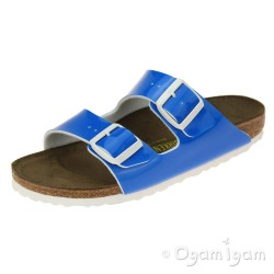 Birkenstock Arizona Womens Neon Blue Sandal