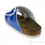 Birkenstock Arizona Womens Neon Blue Sandal