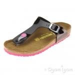 Birkenstock Gizeh Girls Black Sandal