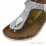 Birkenstock Gizeh Kids Magic Galaxy Girls Silver Sandal