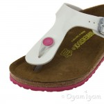 Birkenstock Gizeh Kids White Girls White Sandal