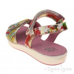 Lelli Kelly Arcobaleno Girls Multi Fantasia Sandal