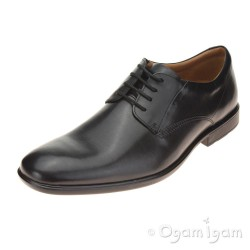 Clarks Gosworth Walk Mens Black Shoe