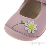 Clarks Little Jam Infant Girls Pink Shoe