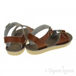 Salt-Water Surfer Boys Girls Tan Sandal