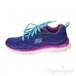 Skechers Skech Appeal Prancy Dance Girls Blue/Purple Trainer