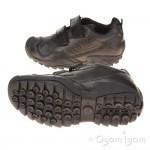 Geox Savage 2 Boys Black Shoe