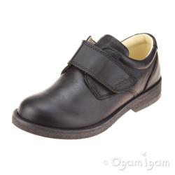 Primigi Brotter Boys Black School Shoe