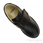 Primigi Brotter Boys Black School Shoe