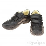Primigi PHA 23960 Boys Black School Shoe