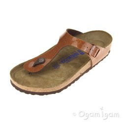 Birkenstock Gizeh Magic Galaxy Womens Bronze Sandal