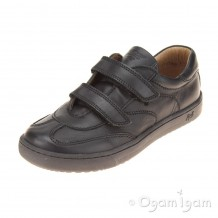 Primigi Diamond Boys Black School Shoe