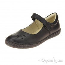 Primigi PTF 24323 Girls Black School Shoe
