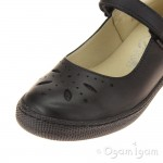 Primigi PTF 24323 Girls Black School Shoe