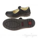 Primigi Olea Girls Black School Shoe