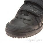 Start-rite Cup Final Boys Black School Shoe