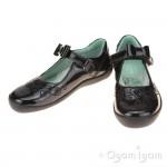 Start-rite Princess Elza Girls Black Patent School Shoe