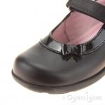 Start-rite Maria Girls Black School Shoe