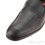 Clarks Willis Step BL Boys Black School Shoe