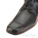 Clarks Hoxton Chap Boys Black School Shoe