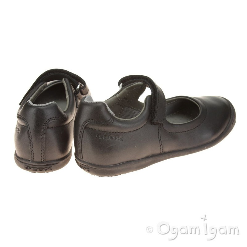 Geox Gioia Girls Strap School Shoe