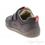Start-rite Supersoft BeetleBug Boys Navy Shoe